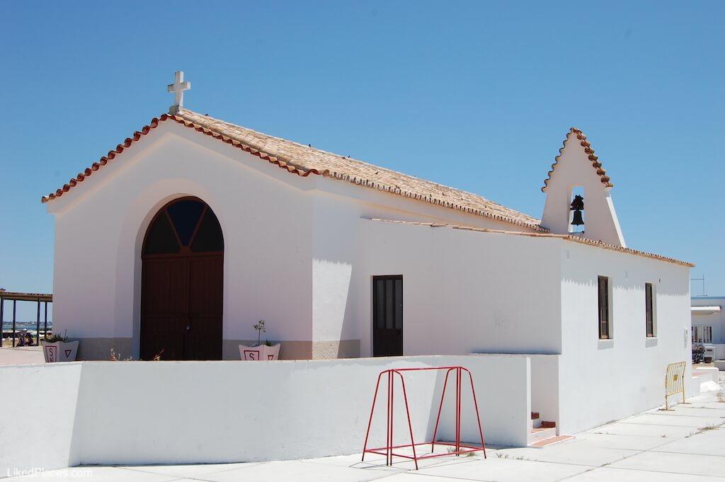 Igreja Capela da Ilha da Culatra. Culatra Island Church Chapel