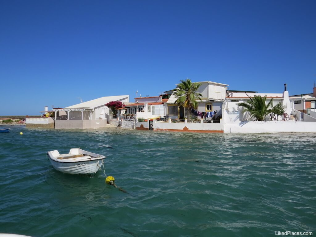 Ilha Armona na maré alta - a Veneza da Ria Formosa