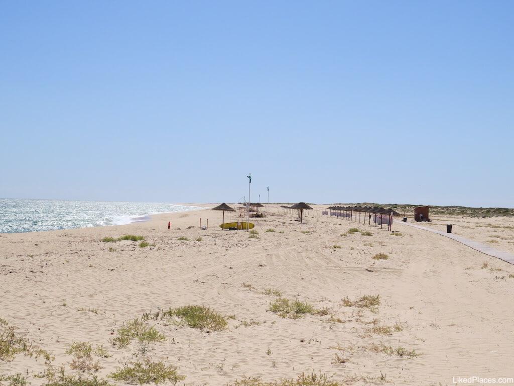 Ilha Deserta Praia Concessionada