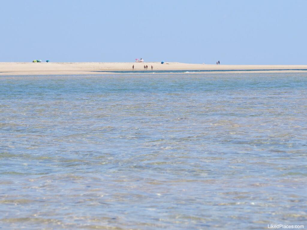 Praia Armona Mar na Ilha da Armona