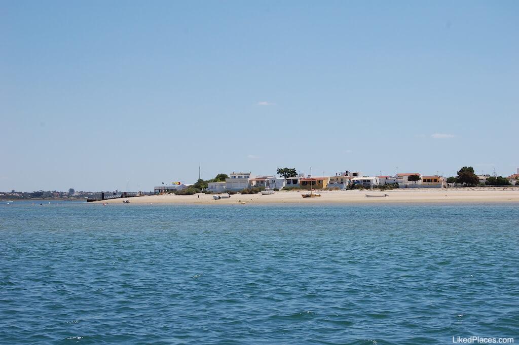 Praia Armona Ria na Ilha da Armona