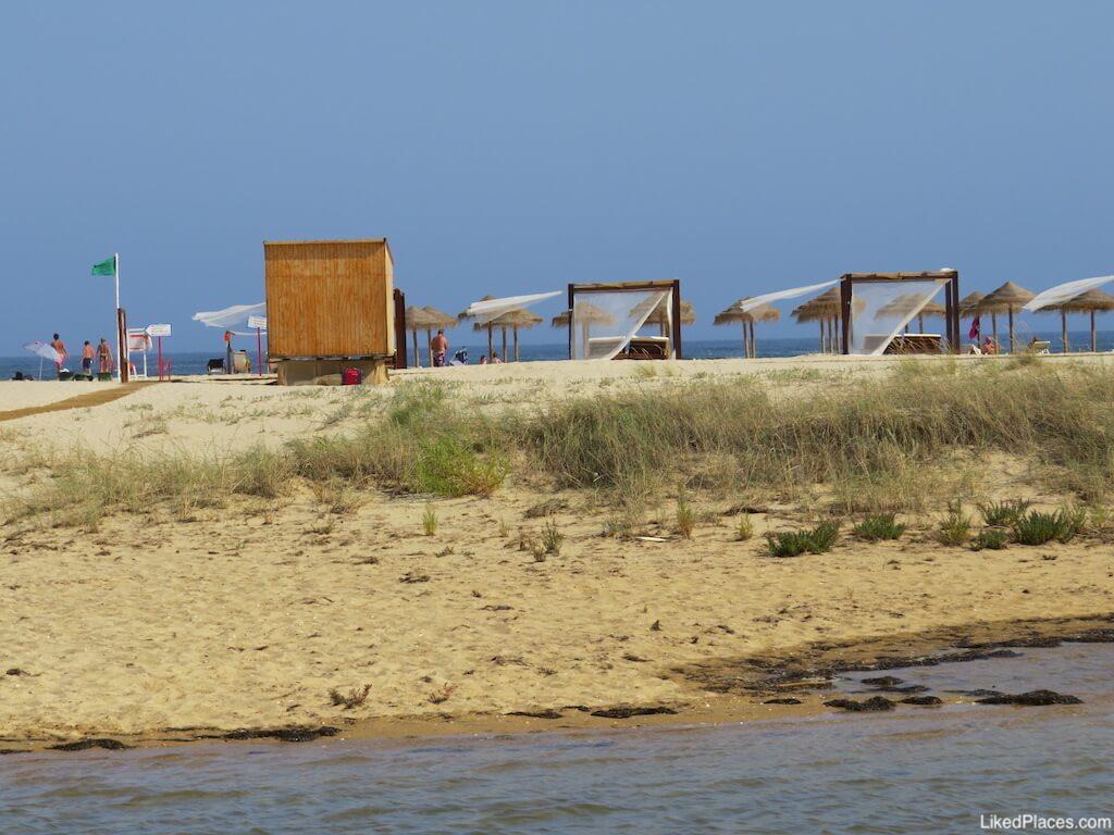 Praia de Cacela Velha Fabrica