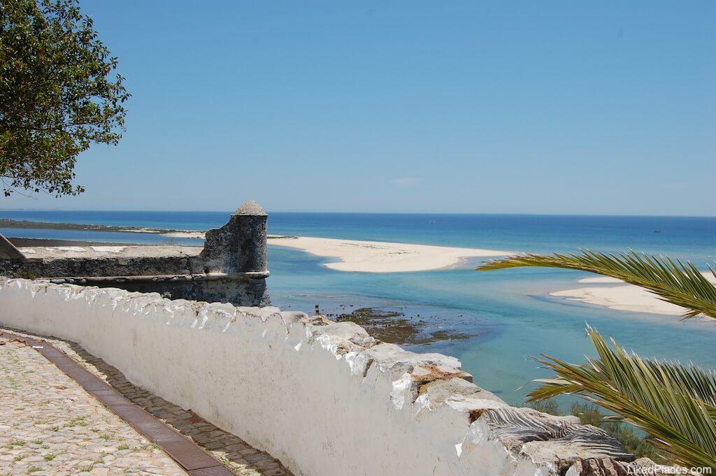 Vista de Cacela Velha para Ria Formosa