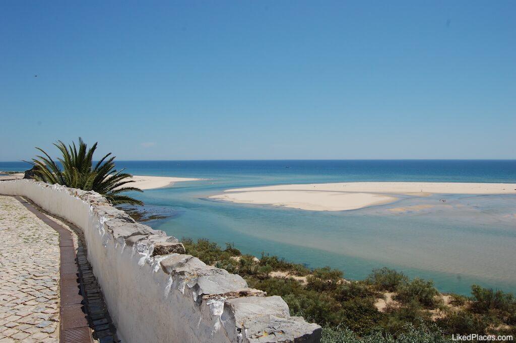 Vista para a Ria Formosa de Cacela Velha