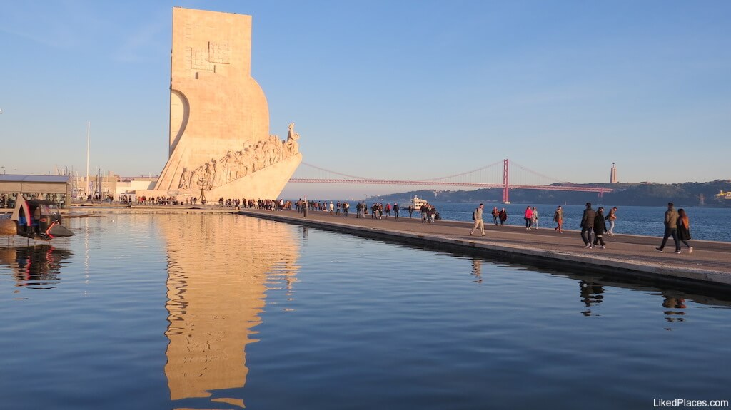 Espelho de Água perto do Padrão dos Descobrimentos, Belém, Lisboa
