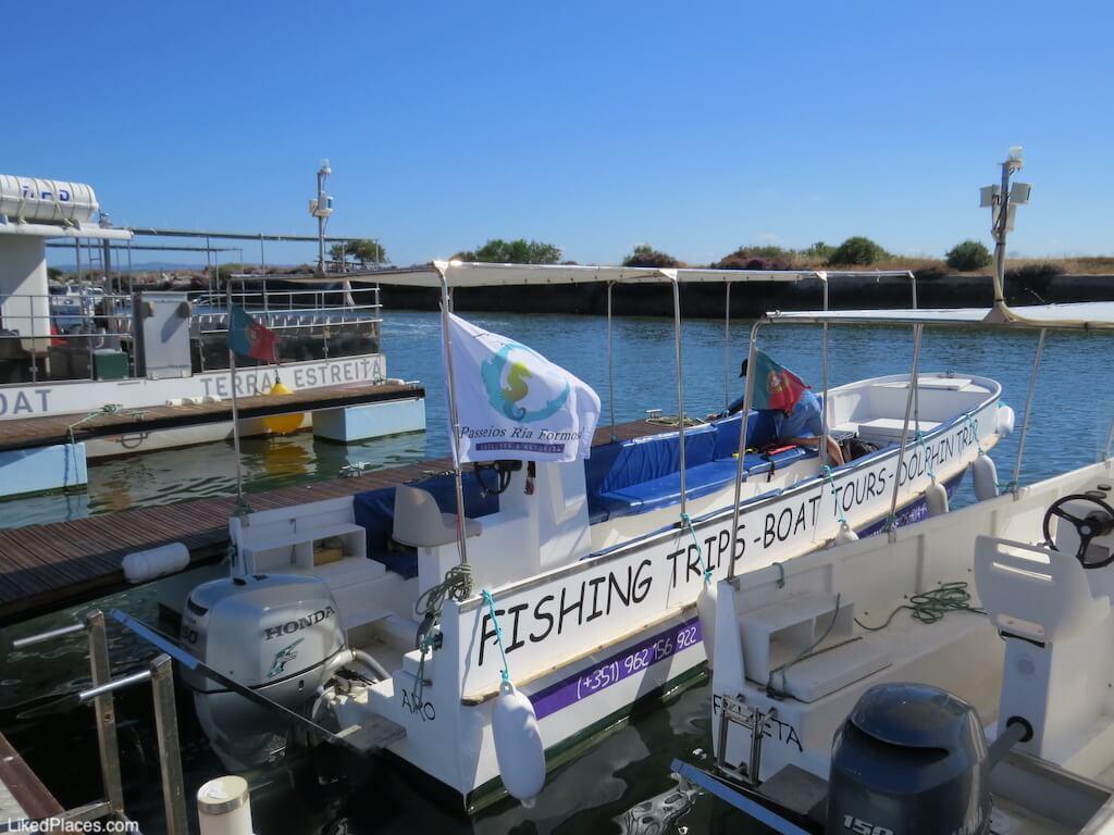 Cais da Fuzeta, Barco da Passeios Ria Formosa