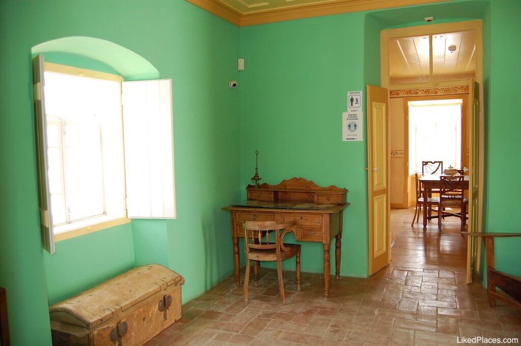 Sala / Escritório na Casa de Odeleite