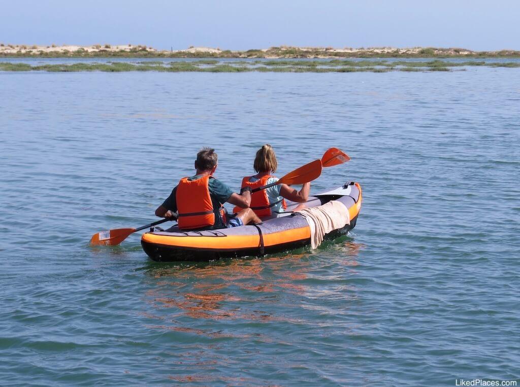 Kayak na Ria Formosa