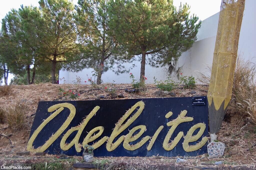 Lápis nome Odeleite