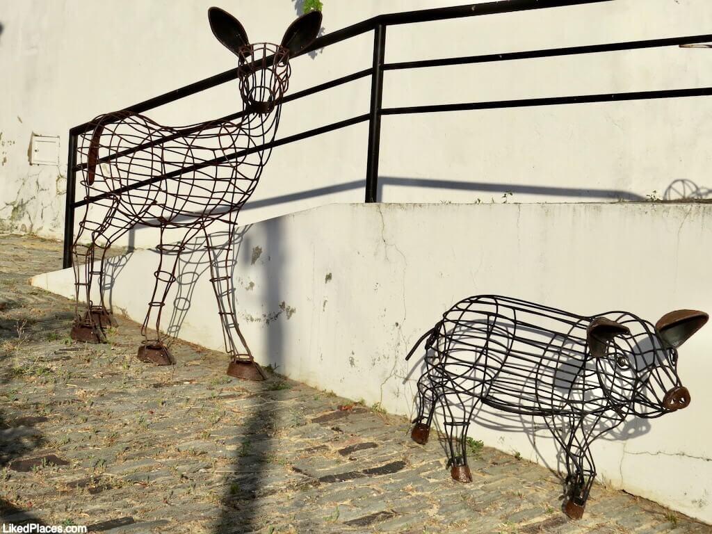 Esculturas em espaço urbano, Odeleite