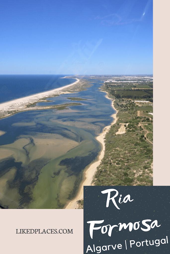 PIN Ria Formosa vista aérea
