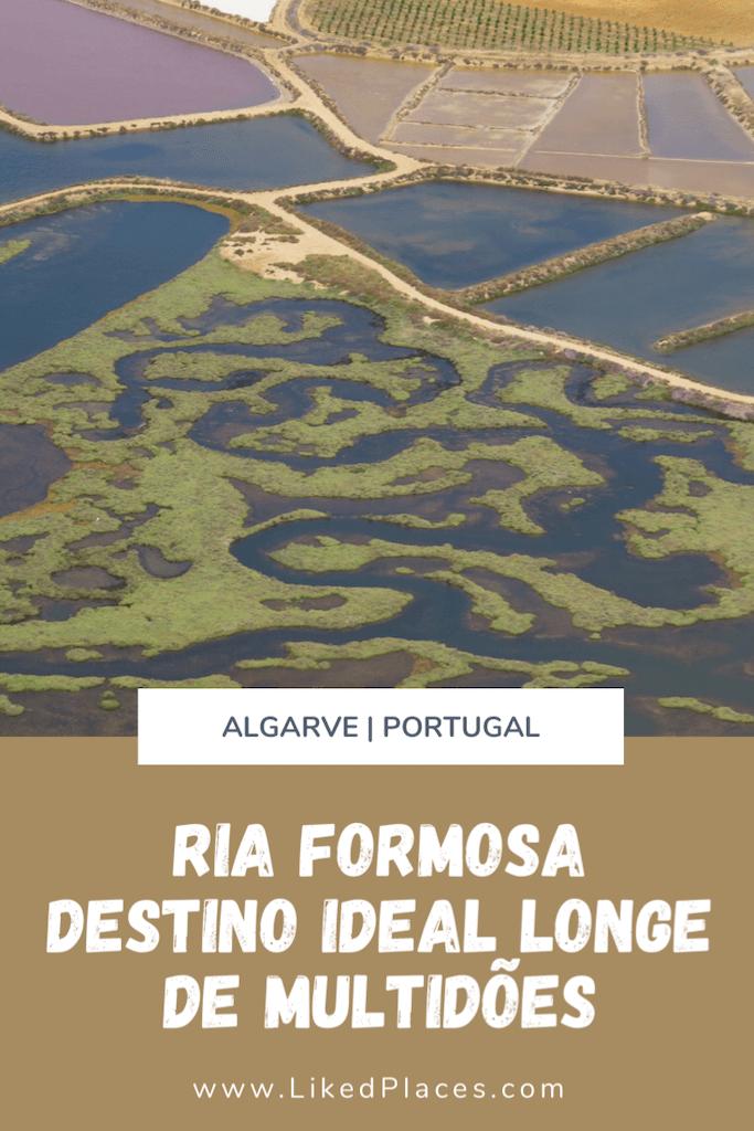 PIN Ria Formosa Destino ideal longe de multidões - Dragão em Tavira