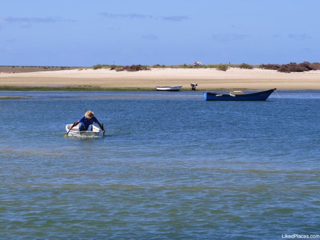 Mariscadores na Ria Formosa