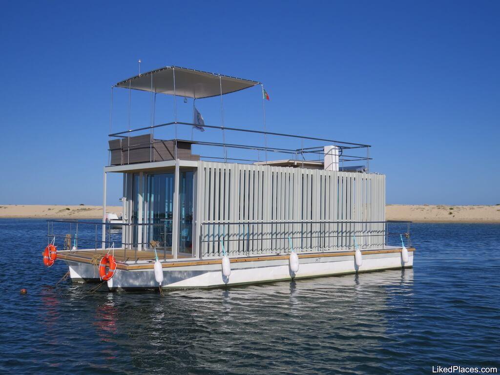 Barco Casa Fuzeta Passeios Ria Formosa