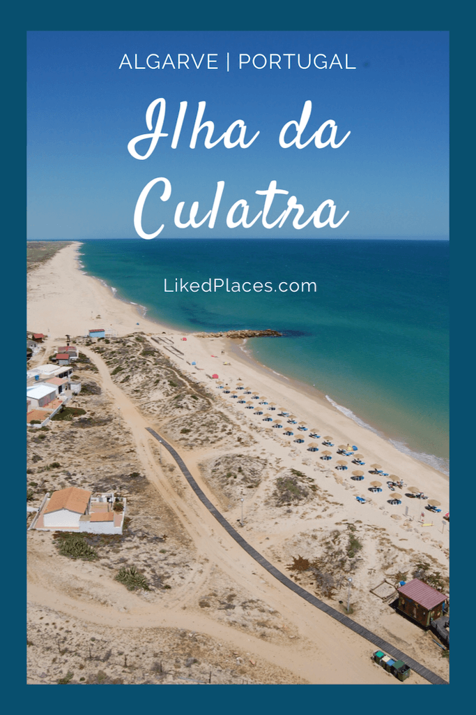 PIN Ilha da Culatra, vista do Farol de Santa Maria para a Praia