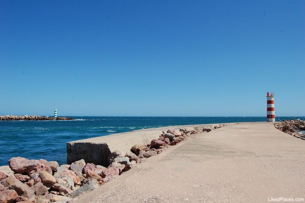Barra Faro Olhão Ilha Deserta