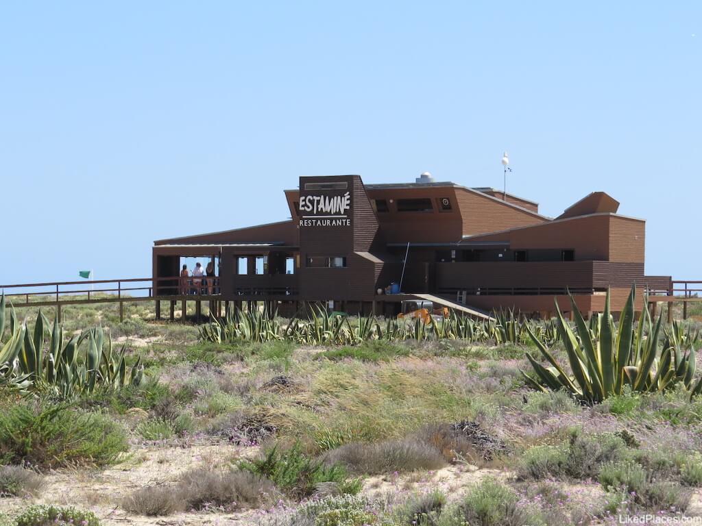 Ilha Deserta Estamine Restaurante Faro