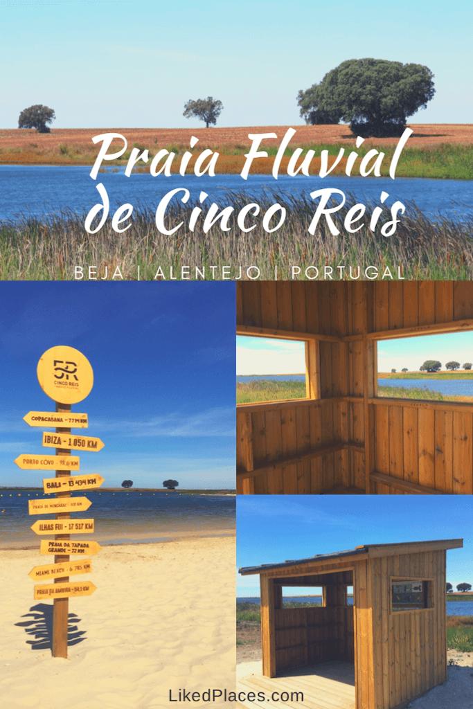 PIN Praia Fluvial Cinco Reis Beja