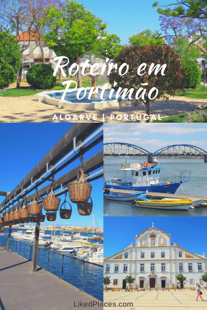 PIN Roteiro Portimão Jardim, Ponte, Museu e Colégio de Jesuítas