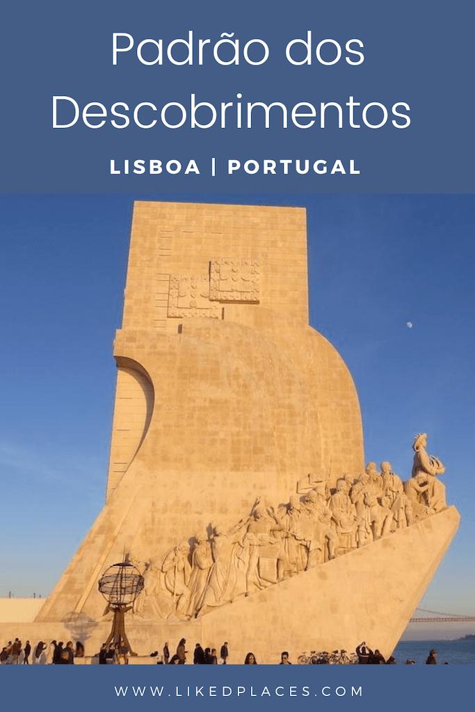 PIN Padrão dos Descobrimentos em Belém Portugal