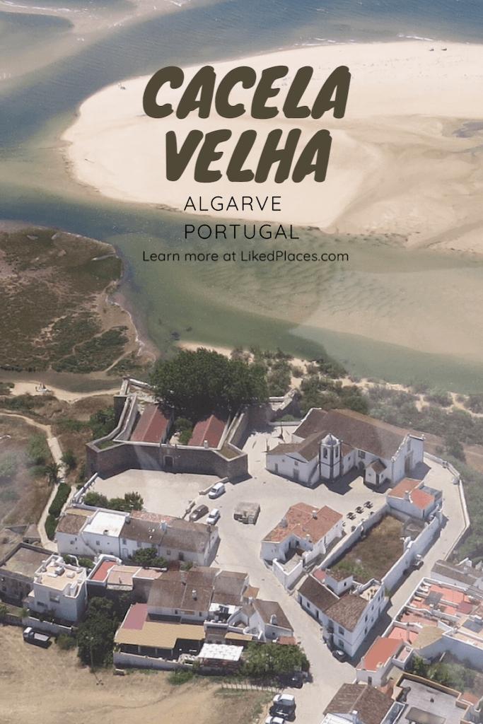 PIN aerial view of Cacela Velha