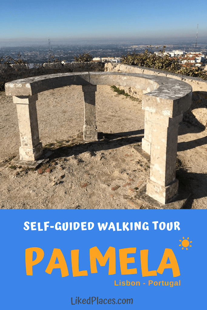 Pin Palmela walking tour