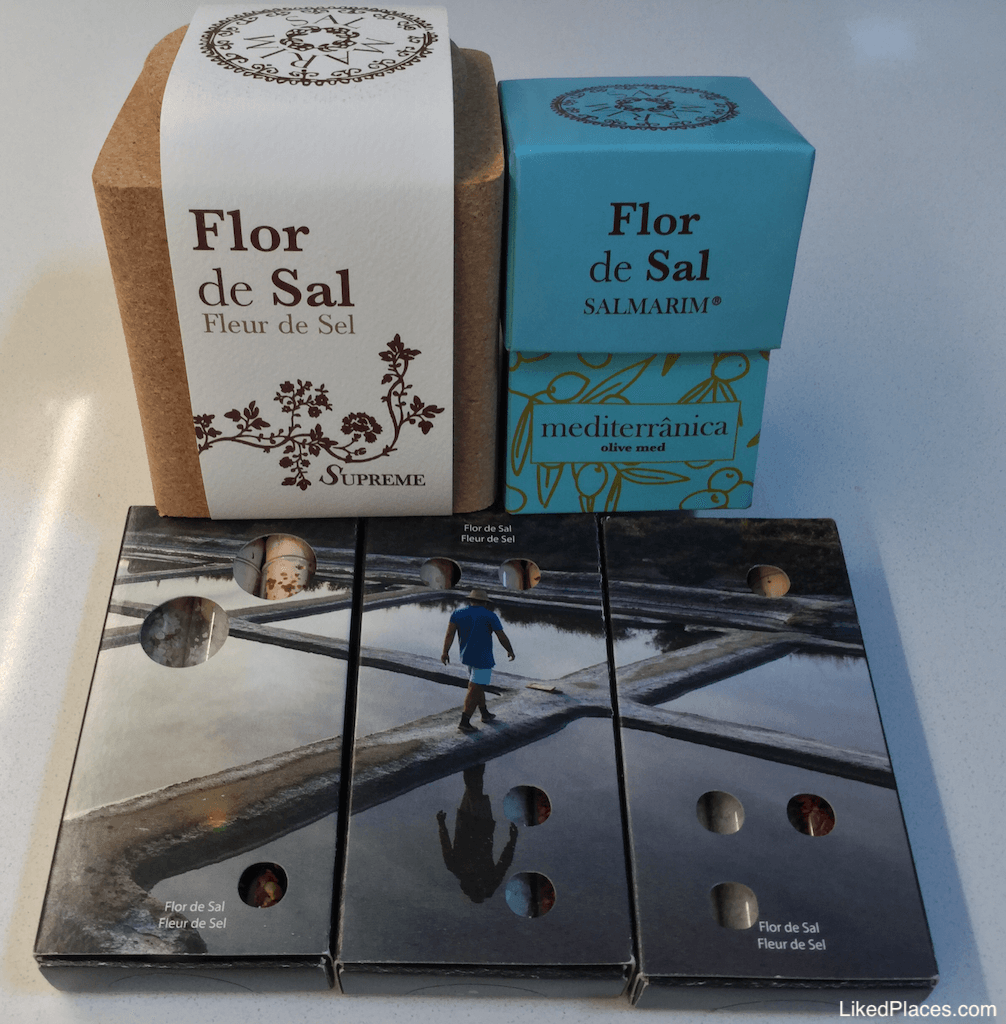 Flor de Sal, Saleiro e Produtos da Salmarim