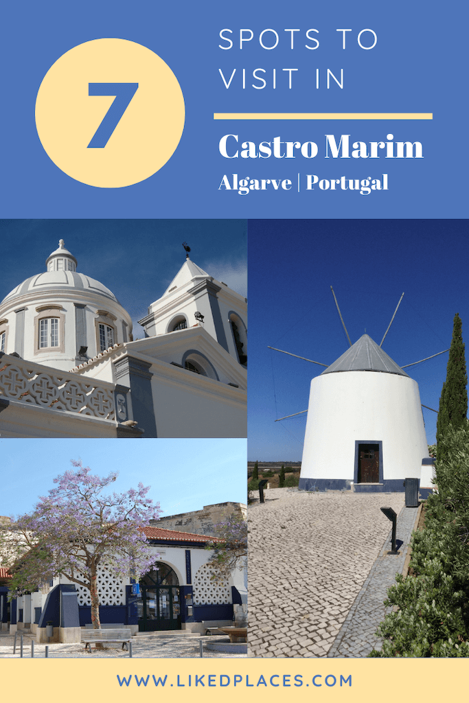 PIN 7 spots to visit in Castro Marim, Algarve Portugal