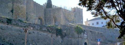 Palmela Entrada do Castelo de Palmela com Pousada de Palmela ao fundo