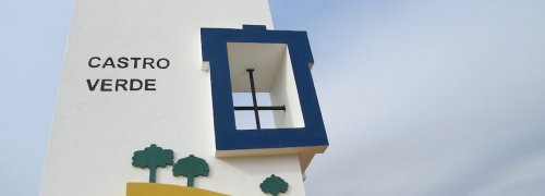 Castro Verde - boas vindas ao viajante ao concelho - County Hall Board