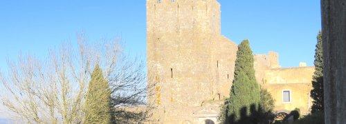 Palmela Entrada do Castelo de Palmela com Torre de Menagem e ruínas da Igreja de Santa Maria