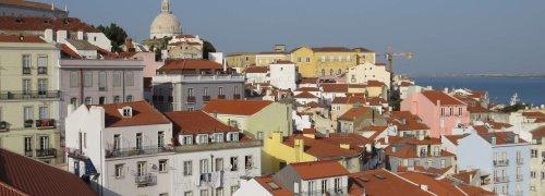 Casas em Alfama, Lisboa