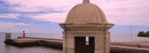 Algarve, vista da Baia a partir do Forte da Ponte da Bandeira em Lagos