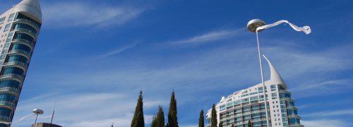 Torres no Parque das Nações em Lisboa. Investir em Portugal