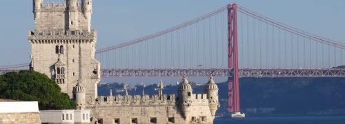 Lisboa Torre de Belém, Ponte 25 de Abril e Rio Tejo