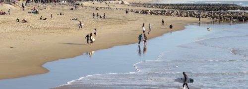 Praia da Caparica Sol Surfistas